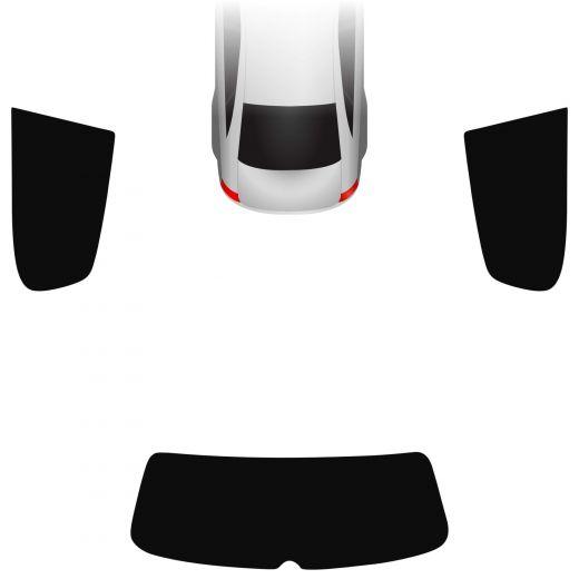 Passgenaue Tönungsfolie VW Golf 5 3-türer 2003-2008