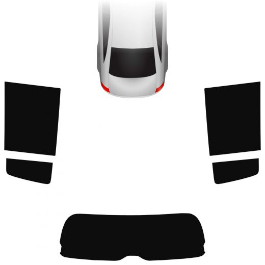 Passgenaue Tönungsfolie Suzuki Swift 5-türer 2005-2010