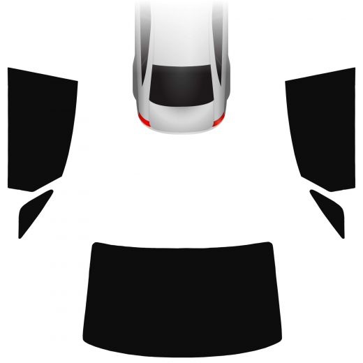 Passgenaue Tönungsfolie Audi A8 D4 2009-2017