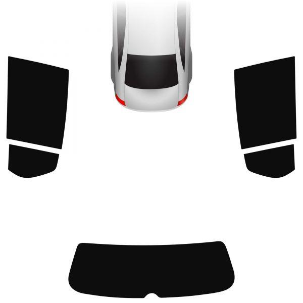 Passgenaue Tönungsfolie VW Golf 6 5-türer 2008-2012