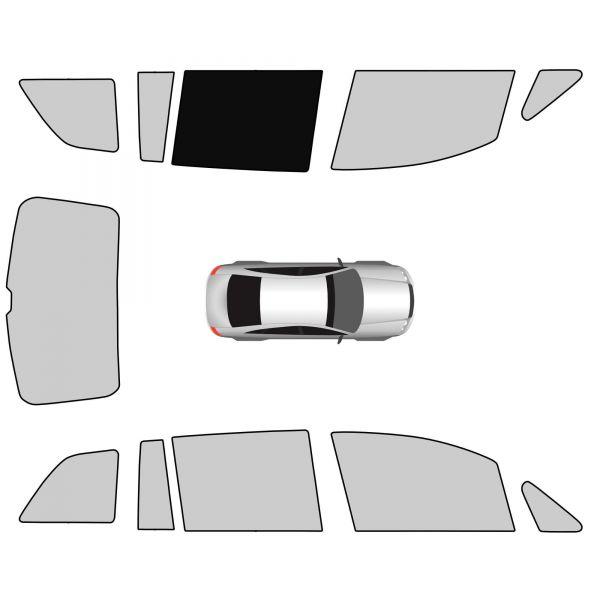 Seitenscheibe Fahrerseite hinten
