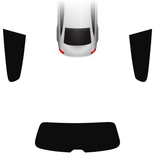 Passgenaue Tönungsfolie VW Scirocco III 2008-2017