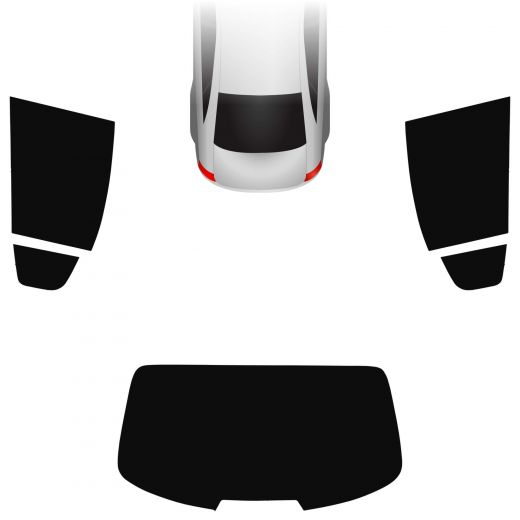 Passgenaue Tönungsfolie Alfa Romeo Giulia 2016-heute