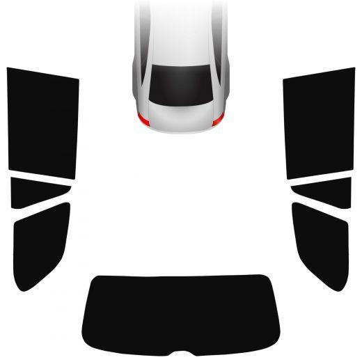 Passgenaue Tönungsfolie VW Golf 6 Variant/Kombi 2009-2013