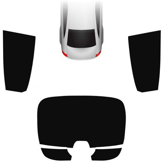 Passgenaue Tönungsfolie Honda Civic 10 5-türer 2017-heute