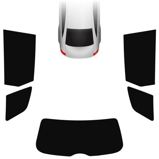 Passgenaue Tönungsfolie Audi A3 8P 5-türer Sportback 2004-2013
