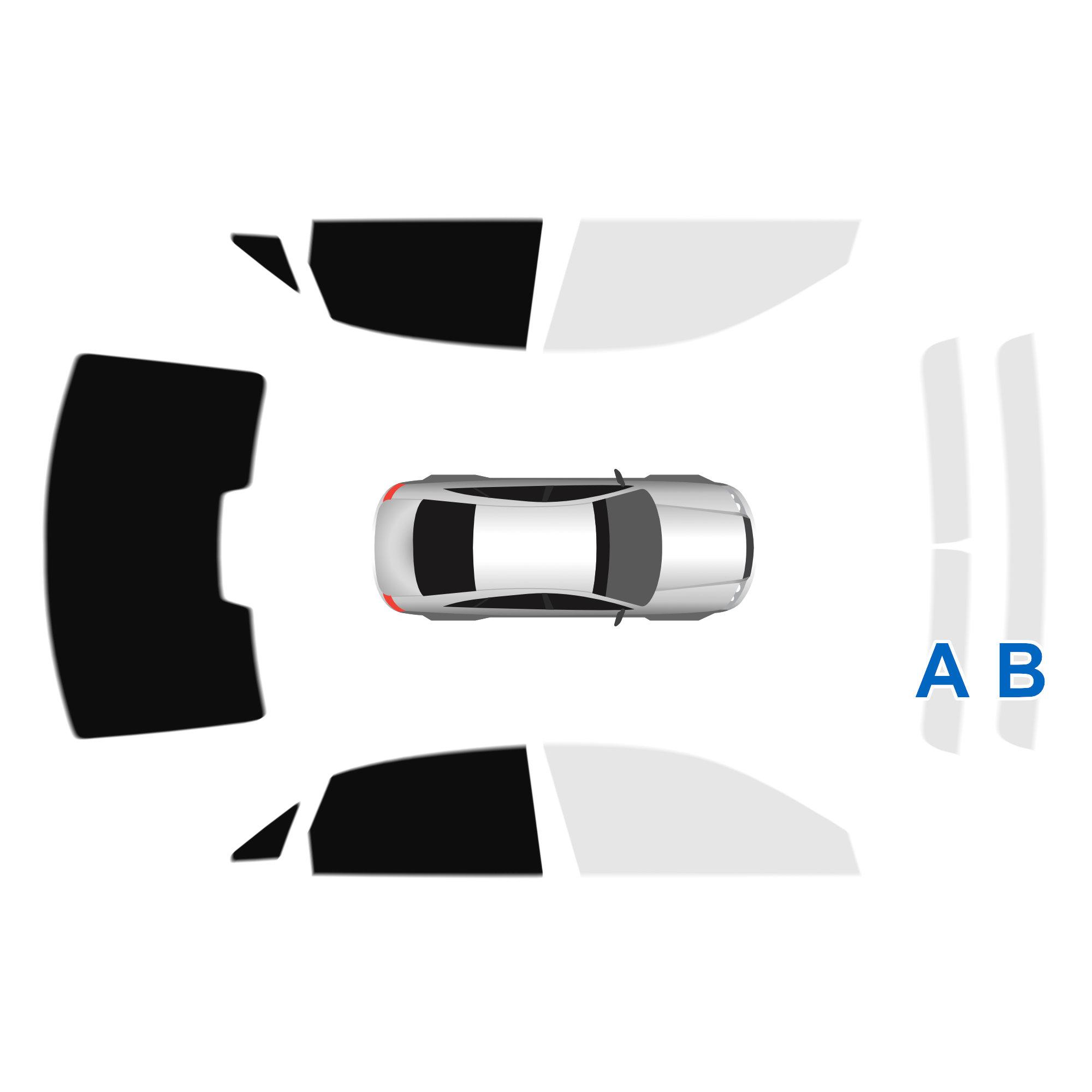 Passgenaue Heckscheiben Tönungsfolie Audi A3 8V Limo 2013 heute