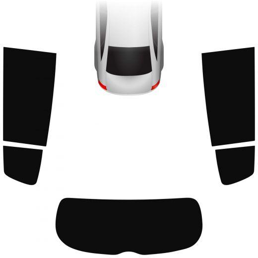 Passgenaue Tönungsfolie Kia Sportage 2015-heute