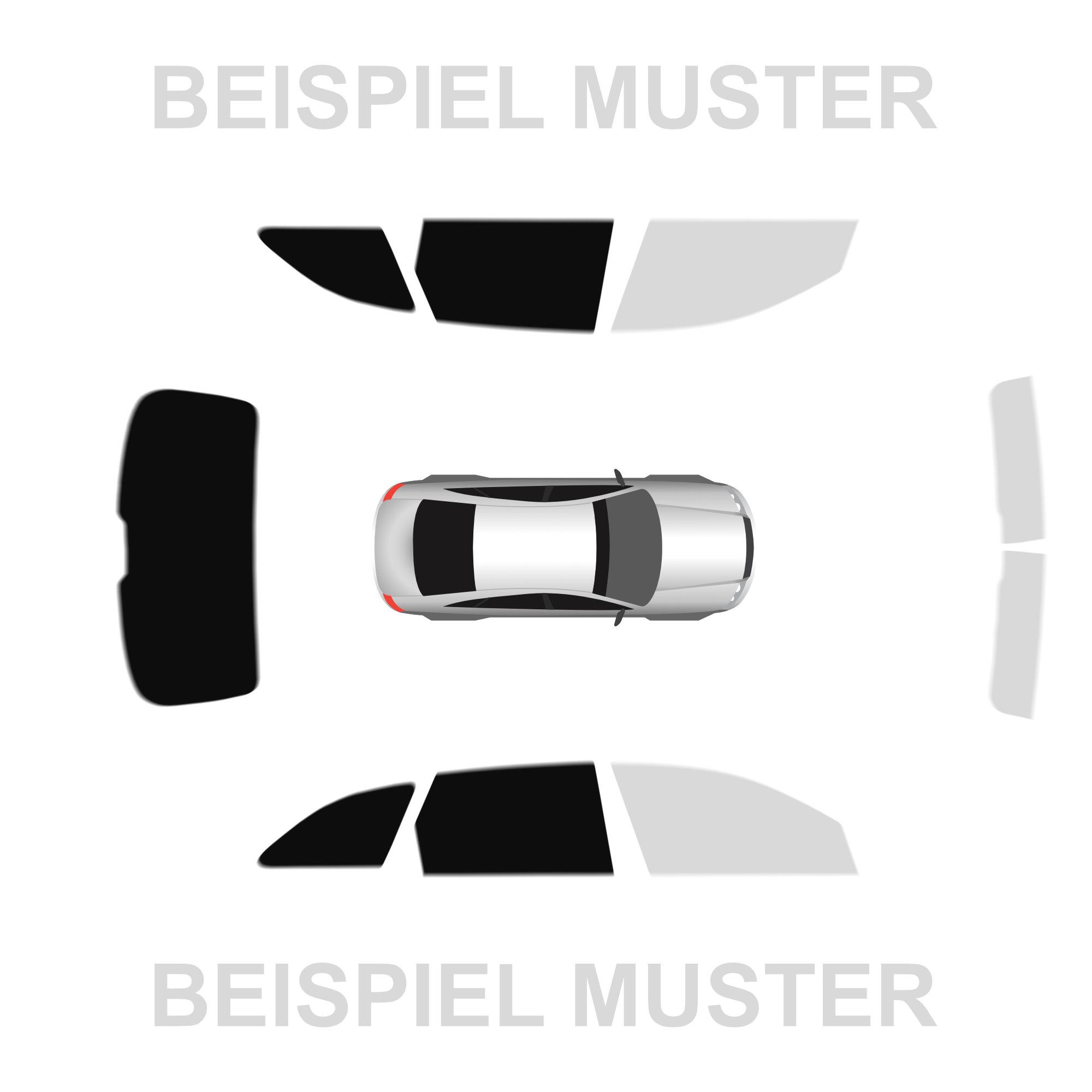 Passgenaue Tönungsfolie Opel Corsa E 5-Türer Bj.14 Phantom 95