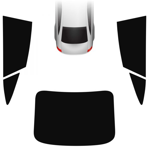 Passgenaue Tönungsfolie Audi A7 Sportback 2018-heute