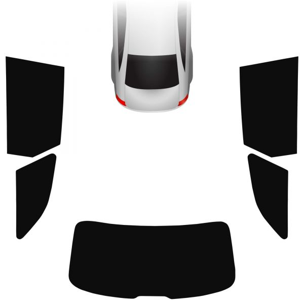 Passgenaue Tönungsfolie Audi A6 C7 Avant 2011-2018