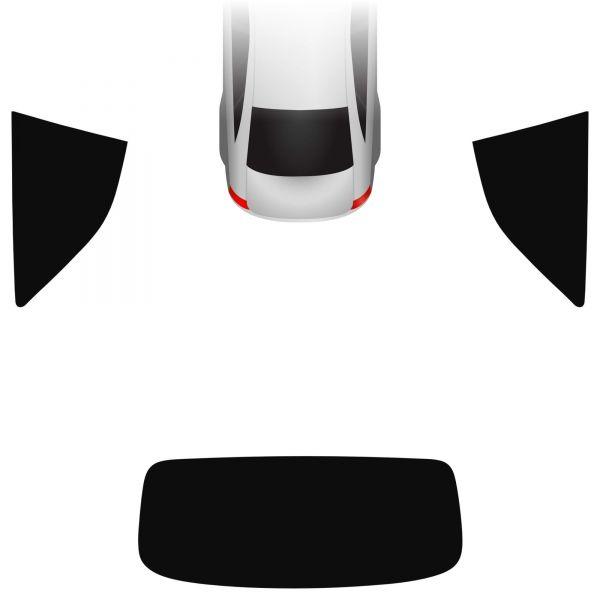 Passgenaue Tönungsfolie Audi A5 F5 Cabrio 2016-heute