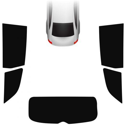 Passgenaue Tönungsfolie Audi Q7 4L 2005-2015