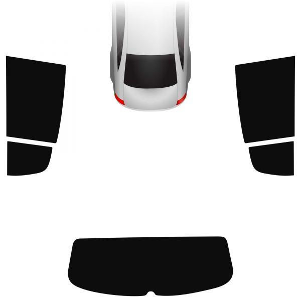 Passgenaue Tönungsfolie VW Golf Plus 2008-2014