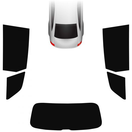 Passgenaue Tönungsfolie Audi Q7 4M 2015-heute