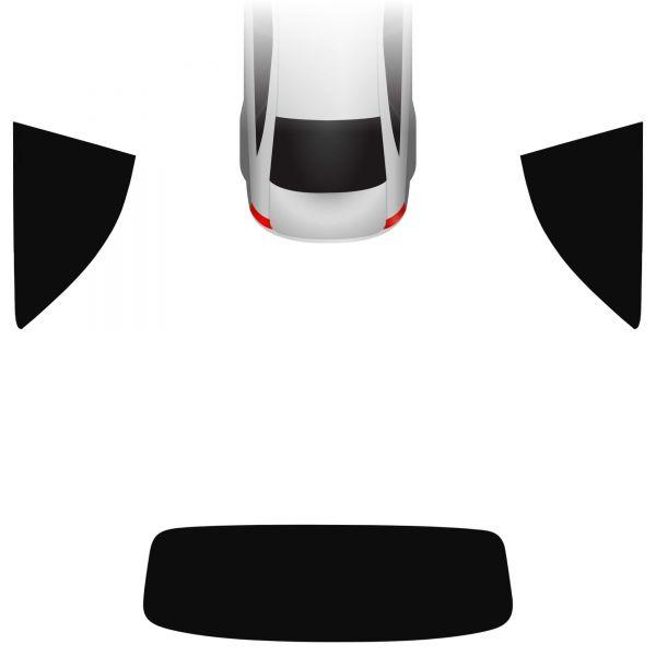 Passgenaue Tönungsfolie Audi A3 8V Cabrio 2013-heute
