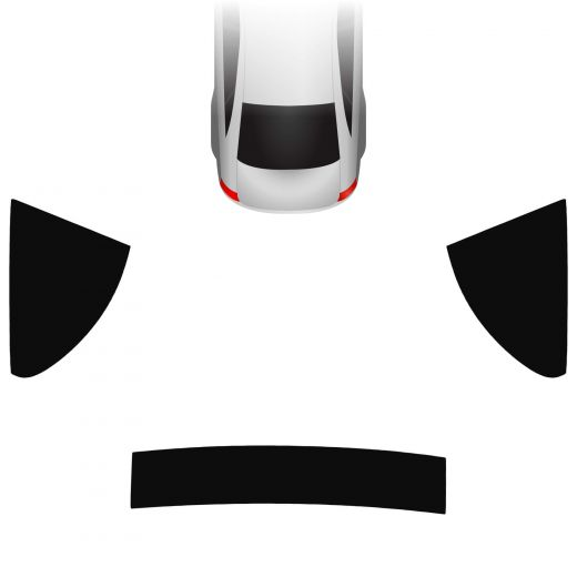 Passgenaue Tönungsfolie BMW 6er F12 Cabrio 2011-2018