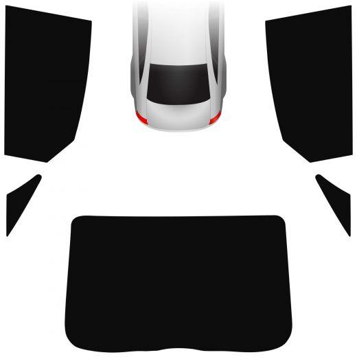Passgenaue Tönungsfolie Opel Vectra C Fliessheck 2002-2008