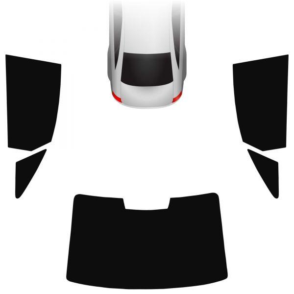 Passgenaue Tönungsfolie Audi A6 C7 Limo 2010-2018