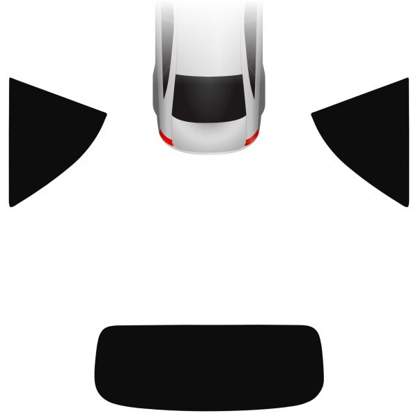 Passgenaue Tönungsfolie BMW 2er F23 Cabrio 2014-heute