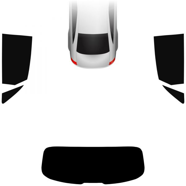 Passgenaue Tönungsfolie Audi A1 8X Sportback 2011-2018
