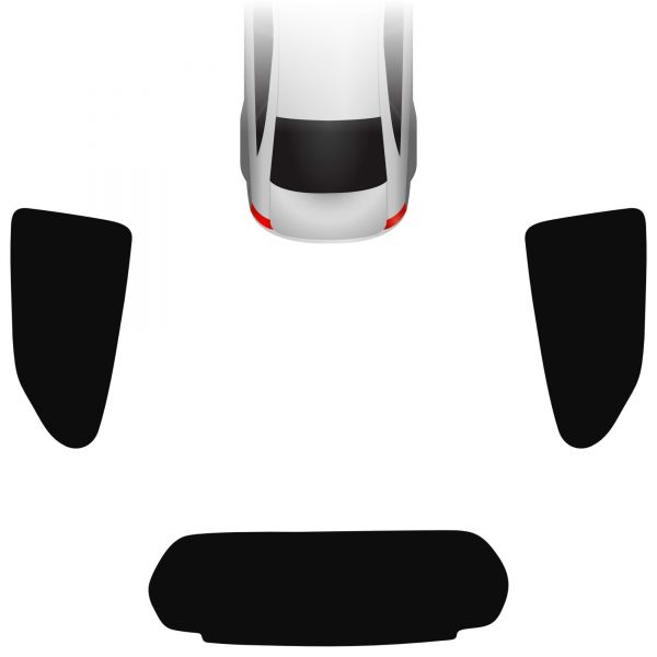 Passgenaue Tönungsfolie Suzuki Alto V 5-türer 2009-2015