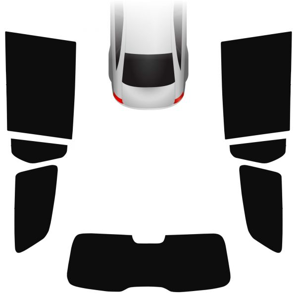 Passgenaue Tönungsfolie Dacia Logan MCV 2013-heute