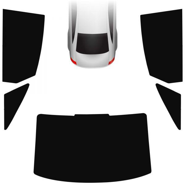 Passgenaue Tönungsfolie Audi A6 C6 Limo 2004-2011
