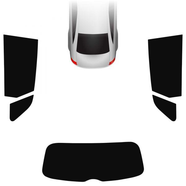 Passgenaue Tönungsfolie Audi A3 8V 5-türer Sportback 2012-heute