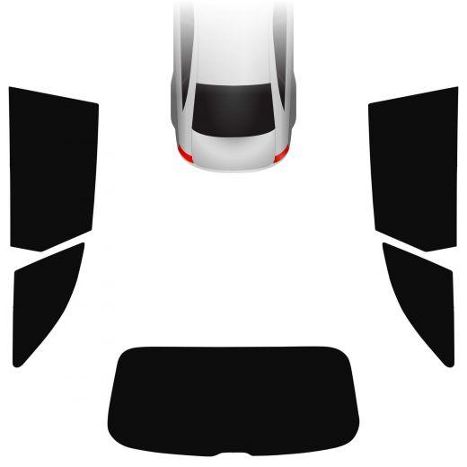 Passgenaue Tönungsfolie Audi A4 B9 Avant 2015-heute