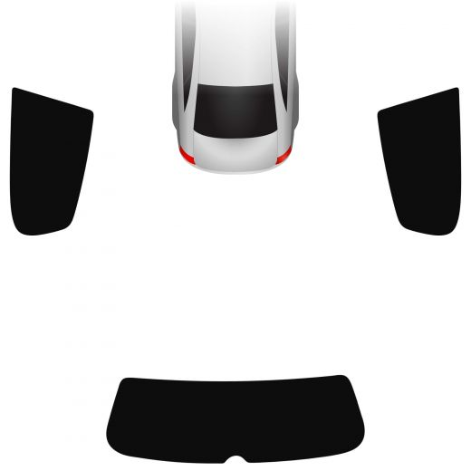 Passgenaue Tönungsfolie VW Golf 6 3-türer 2008-2012