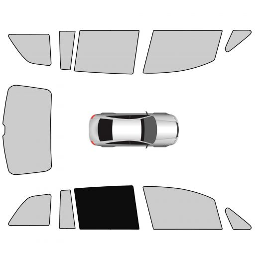 Seitenscheibe Beifahrerseite hinten