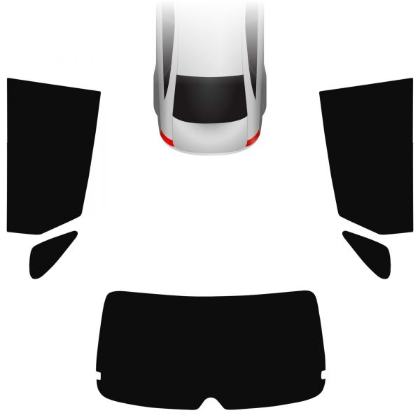 Passgenaue Tönungsfolie Suzuki Baleno II 5-türer 2016-heute