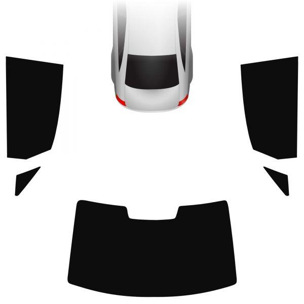 Passgenaue Tönungsfolie Audi A3 8V Limo 2013-heute