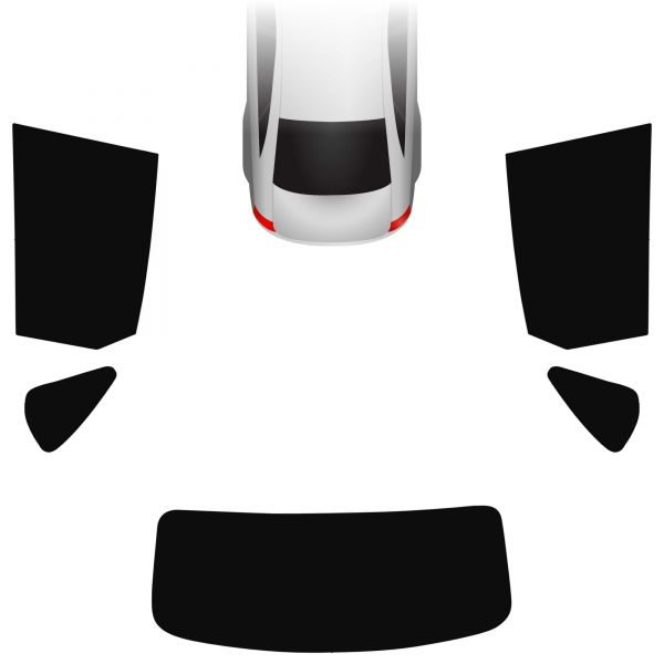 Passgenaue Tönungsfolie BMW 2er F45 Active Tourer 2013-heute