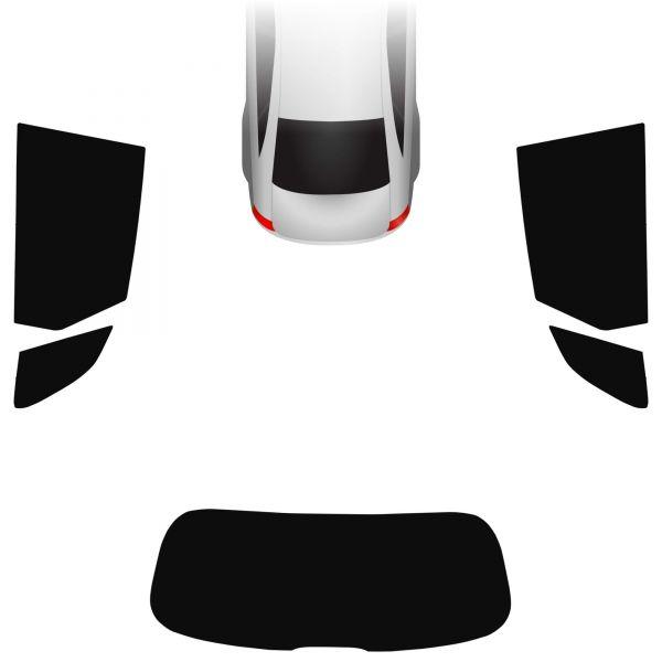 Passgenaue Tönungsfolie Audi Q5 FY 2016-heute