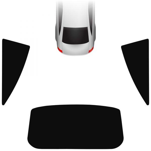 Passgenaue Tönungsfolie Opel Corsa D 3-türer 2006-2014