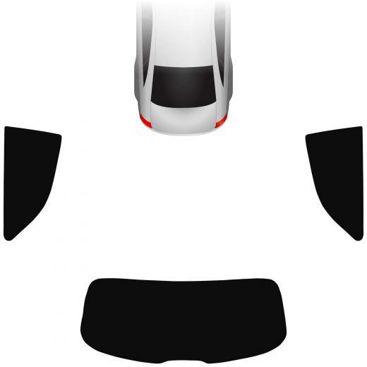Passgenaue Tönungsfolie Audi A1 8X 3-türer 2010-2018