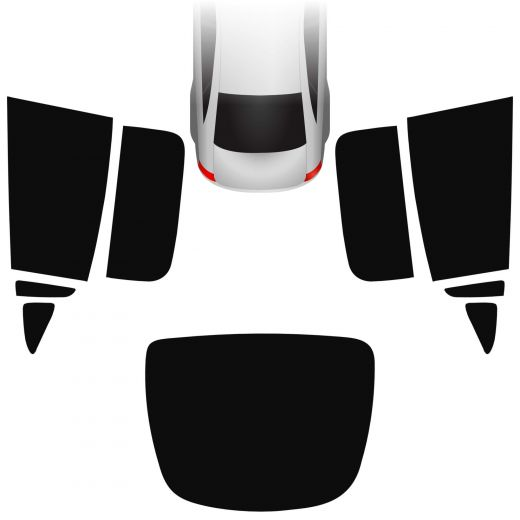 Passgenaue Tönungsfolie Tesla Model X 2015-heute