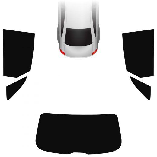 Passgenaue Tönungsfolie Audi Q3 8U 2011-2018