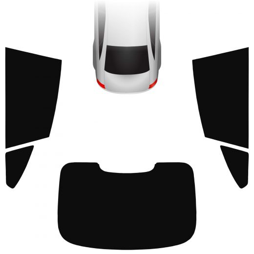 Passgenaue Tönungsfolie BMW 4er F36 Gran Coupe 2014-2021